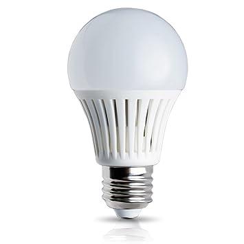 Elrigs Led Lampe Mit Bewegungsmelder Und Dammerungssensor E27 5w