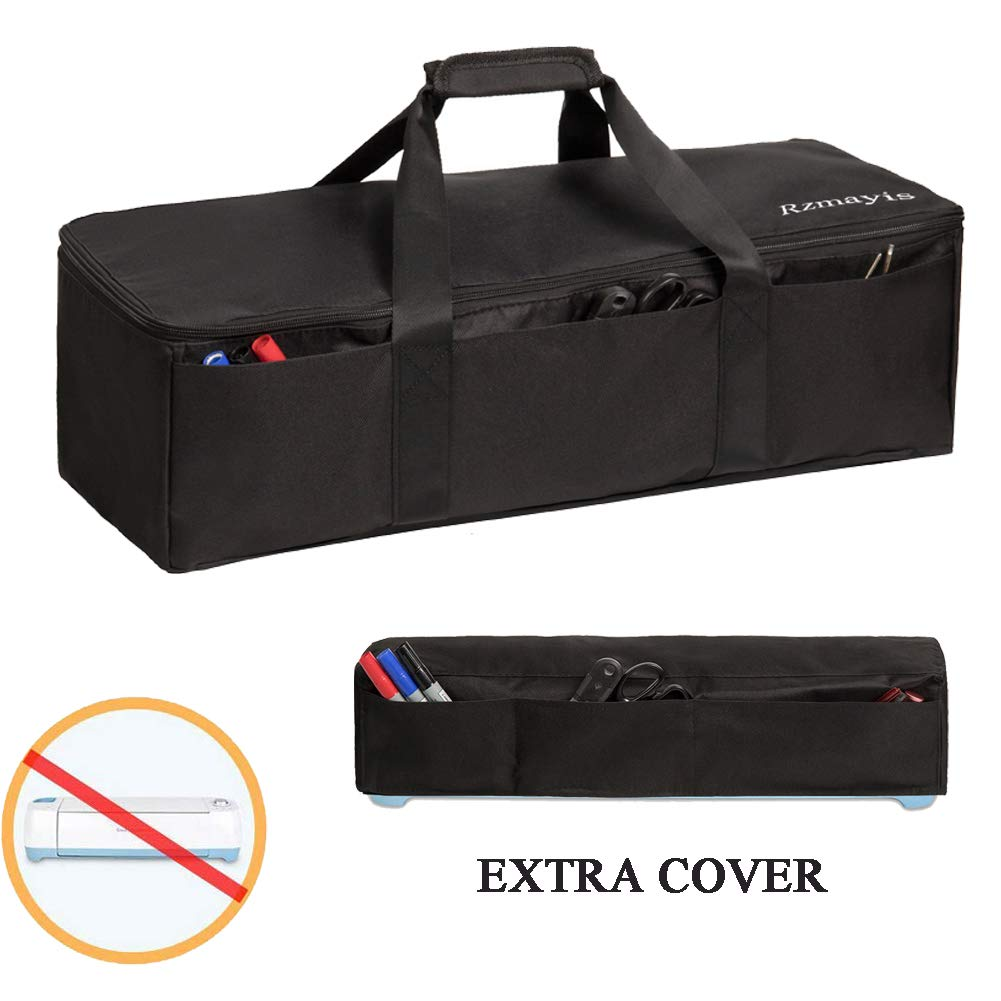 Light Weight and Foldable Die-Cutting Machine Carrying Bag Compatible with Cricut Explore Air and Maker Grey