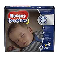 Huggies Overnites Diapers, Size 3, 28 ct