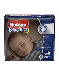 HUGGIES OverNites Diapers, Size 3, 28 ct., Overnight Diapers BOBEBE Online Baby Store From New York to Miami and Los Angeles