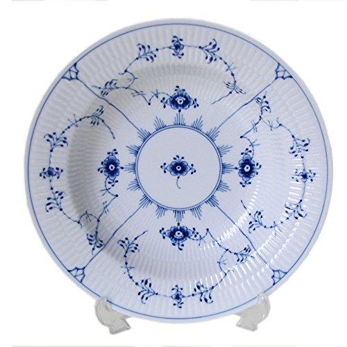 Royal Copenhagen Blue Fluted Plain Rim Soup Plate