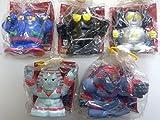 Mitsuteru Yokoyama Robo Soft piggy bank collection the entire set of 5