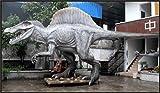 Spinosaur Animatronic Life Size 50 ft Dinosaur Statue (Jurassic Park)