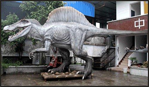 Spinosaur Animatronic Life Size 50 ft Dinosaur Statue (Jurassic Park) (Animatronics)