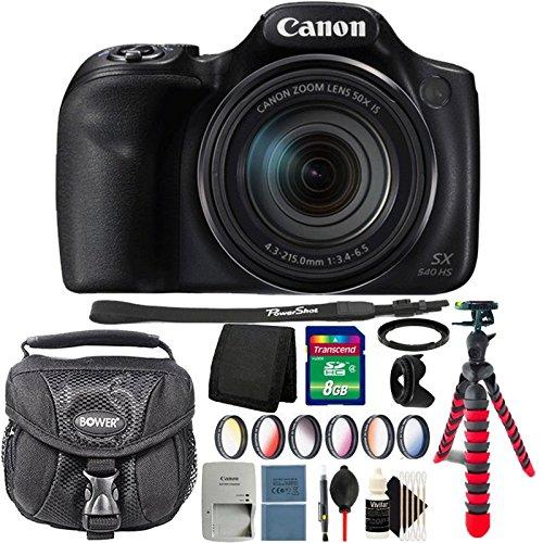 Canon PowerShot sx540 HS 20.3 MPデジタルカメラwith Completeアクセサリキット   B07CKXVJ88
