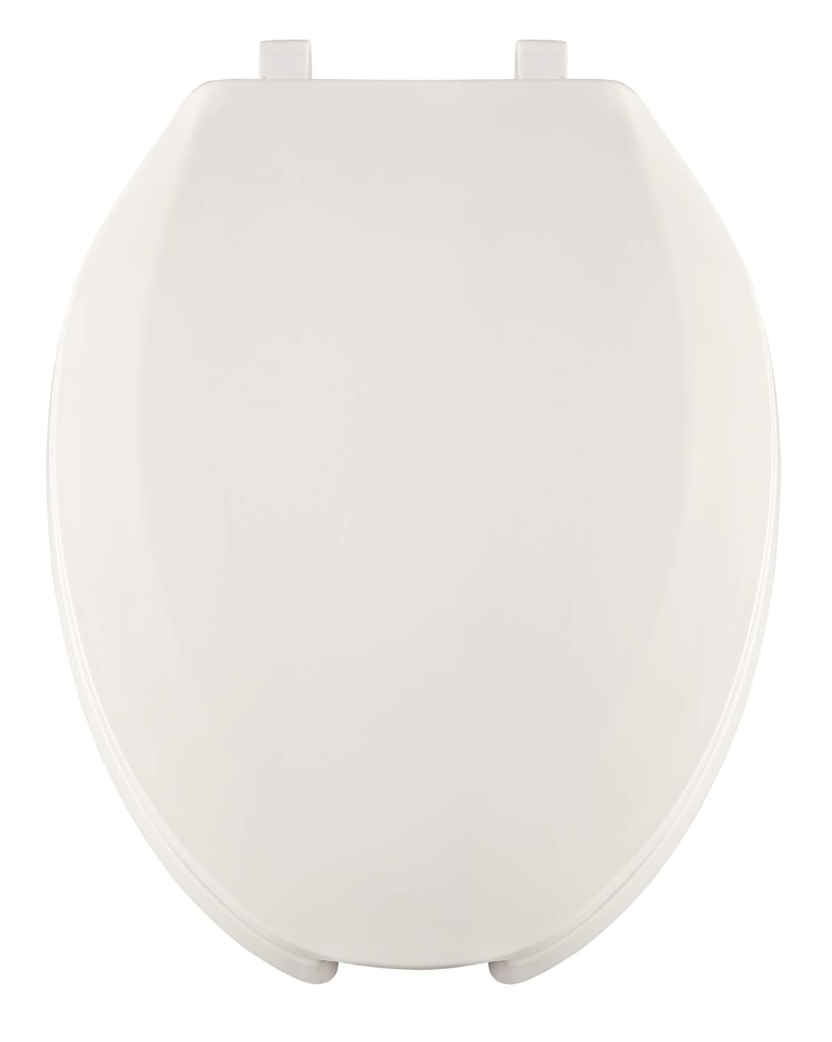 Open Front with Cover White Heavy Duty Commercial Use Centoco 820STS-001 Elongated Plastic Toilet Seat Stainless Steel Hinge