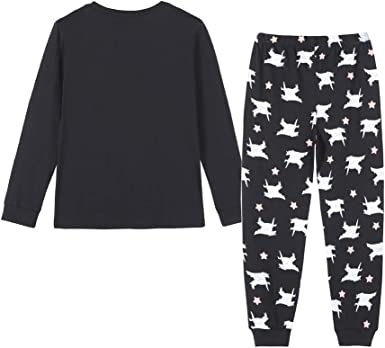 Cotton Baby Clothes Boy and Girl Long Sleeve Trousers Cartoon Print Pajamas F8D7