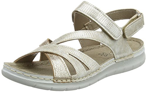 Lotus WoMen Sangallo Sling Back Sandals Gold (Gold)