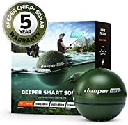 Deeper Chirp Plus / Plus 2 Smart Sonars Castable and Portable WiFi Fish Finders for Kayaks and Boats and on Sh