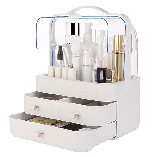 Amazon.com: Organizador de maquillaje transparente para ...