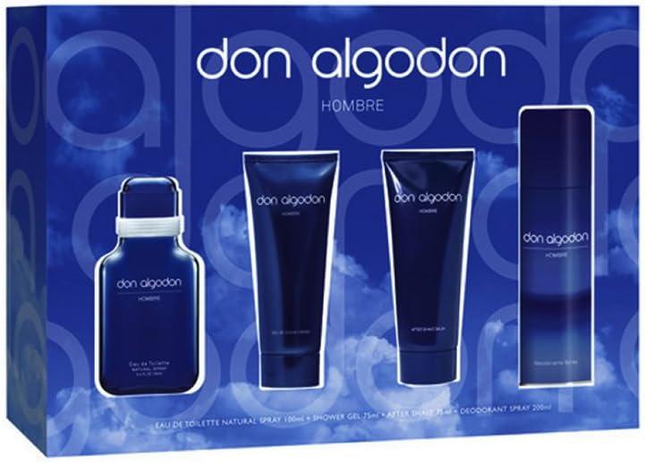 DON ALGODON HOMBRE EST. 4 PIEZAS: Amazon.es: Belleza