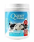 Quest Prot Pwdr Cookie & Size 16z Quest Protien Powder 1lb Cookies & Cream 16z