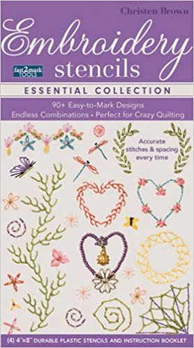 Fast2marktm Embroidery Stencils Essential Collection 90 Easy To