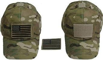 Ndier Sombrero con Bandera Americana, Gorra Militar Sombrero de béisbol Ajustable Camuflaje con Visera Deportiva: Amazon.es: Ropa y accesorios