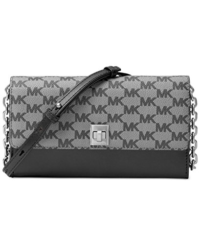 MICHAEL Michael Kors KORS STUDIO Natalie XL Wallet On A Chain Black by MICHAEL Michael Kors