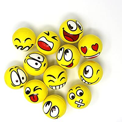 Joyin Toy 68 Pieces Assorted Emoji Toy Party Favor Pack by Joyin Toy