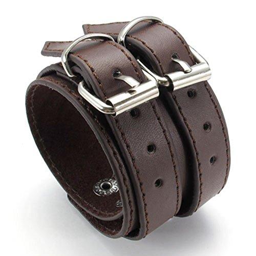leather bullet bracelet - 9