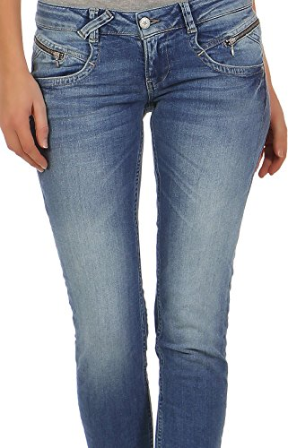 d o M Douala Jeans Donna Blue Cv8TPq