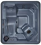 QCA Spas Model 14 Phoenix Hot Tub, 80 by 73.5 by 30-Inch, Blue Denim