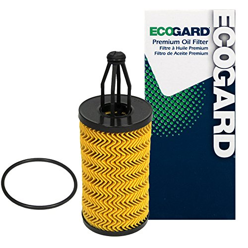 ECOGARD X10001 Cartridge Engine Oil Filter for Conventional Oil - Premium Replacement Fits Mercedes-Benz E350, ML350, GLK350, C300, GLE350, S550, GL450, CLS550, GLS450, E400, C350, E550, GL550