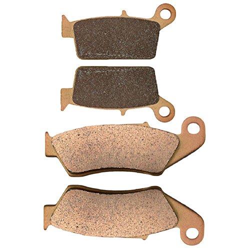AHL Front & Rear Brake Pads Set for Honda XR400R XR400 R 1996-2004 (Sintered copper-based) (Brake Xr400 Pads Sintered)