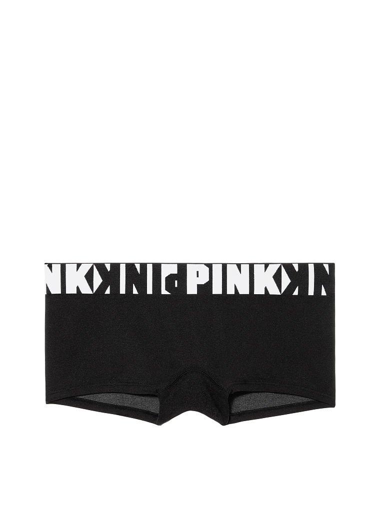 *NEW*Victoria/'s Secret PINK* Velvet~Logo Boyshorts~Shortie Panties~Sz Medium
