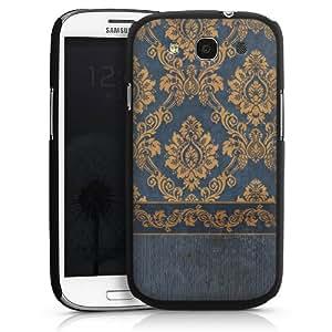 Carcasa Design Funda para Samsung Galaxy S3 i9300 / LTE i9305 HardCase black - Blue Barock
