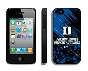 Sports Element Iphone 4s Case Ncaa Duke Blue Devils 05 Personalized Iphone 4 Mobile Phone Protective Cover