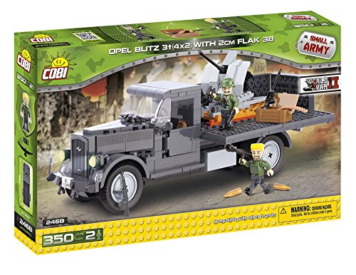 cobi-small-army-opel-blitz-3t-4x2-with-2cm-flak-38-building-kit