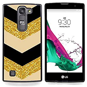 - Chevron Fabric Gold Pattern Sparkling Glitter - - Monedero pared Design Premium cuero del tir???¡¯???€????€?????????&Atild