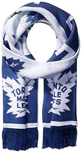 fan products of NHL Vancouver Canucks SP17 Repeating Logo Jacquard Scarf, Blue, One Size