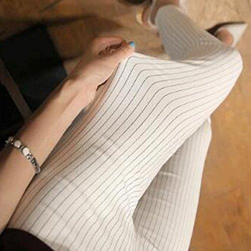 Autunno White Pantaloni Grandi Personalizzate Modelli Donne Inverno Giacche E Bande Dimensioni Legg Fang Di Traspiranti Matita Fine Efq0a