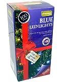 Luces estáticas para exterior 100 LED azules - Navidad