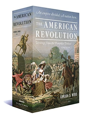 The American Revolution: Writings from the Pamphlet Debate 1764-1776: A Library of America Boxed Set