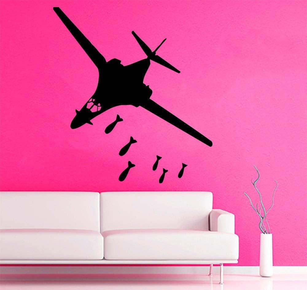 ganlanshu Calcomanía de Aviones Militares Vinilo Avión Bomba ...