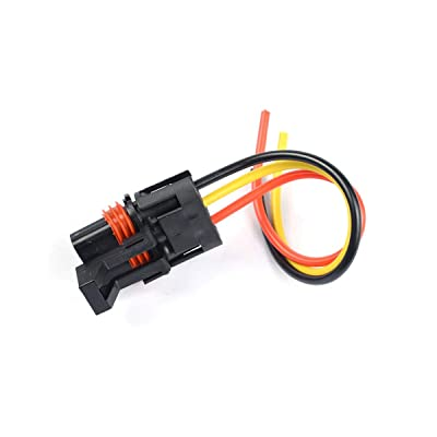 RZR RS1 Pro//General Pulse Bus Bar Power Wire Harness Connector 3 pcs Pulse Power Plug Connector Pigtail Replacement for 2018 2019 2020 2021 Polaris Ranger XP 1000