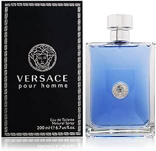 Versace Pour Homme Eau de Toilette Spray for Men, 200ml