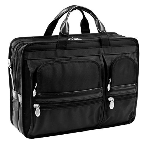 mcklein-usa-hubbard-p-series-briefcase-double-compartment-laptop-case-in-black