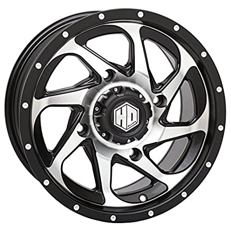 Amazon Com Sti Hd8 Utv Wheelsrims Machined 14 Polaris Rzr 1000 Xp