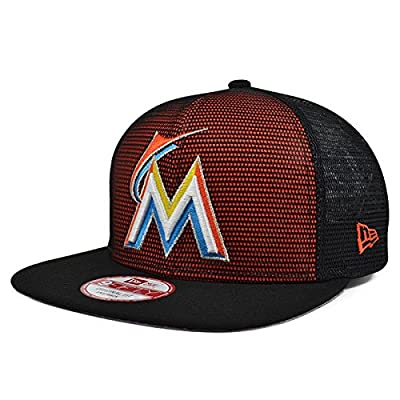 Miami Marlins MESHED UP SNAPBACK 9Fifty New Era MLB Hat = OSFM