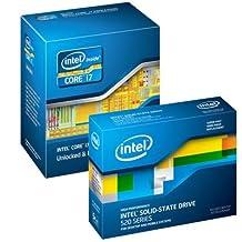BUNDLE Intel BX80623I72600K Core i7 2600K Sandy Bridge 3.4 GHz Socket 1155 95W Quad-core Desktop Processor + Intel SSDSC2CW240A3K5 520 Series 2.5 240GB SATA 6.0 Gb/s MLC SSD (1 pack)