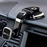 New Version - Bestrix Magnetic Dashboard Cell Phone Car Mount Holder, Smartphone Car Mount, Phone Holder for iPhone X/8/7 Plus/6S/6S Plus/Galaxy S8/S9 Plus/S7/S7 Edge/LG