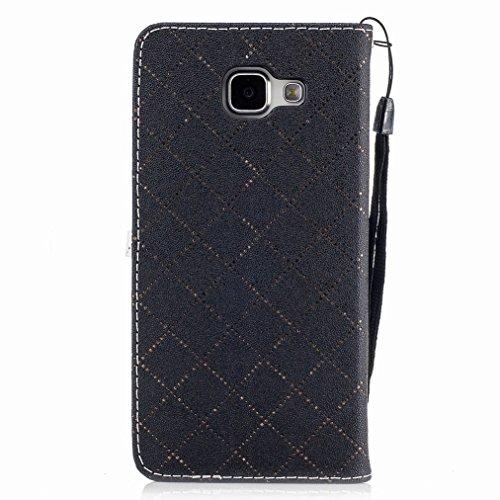 Yiizy Samsung Galaxy A3 (2016) / A310F / A310M / A310Y Funda, Amar Diseño Solapa Flip Billetera Carcasa Tapa Estuches Premium PU Cuero Cover Cáscara Bumper Protector Slim Piel Shell Case Stand Ranura