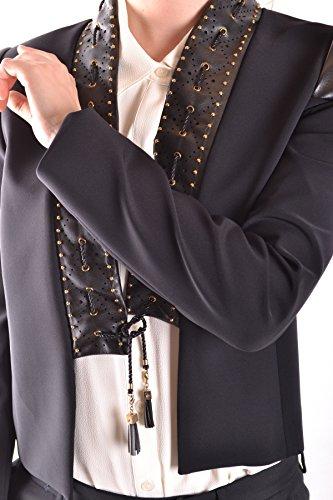 Elisabetta Franchi Femme MCBI113085O Noir Polyamide Blazer