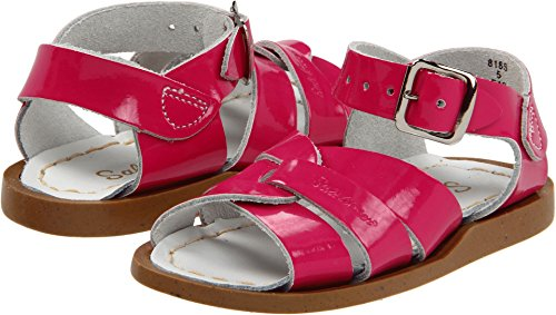Salt Water Sandals by Hoy Shoe Original Sandal (Toddler/Little Kid/Big Kid/Women's), Shiny Fuschia, 7 M US ()