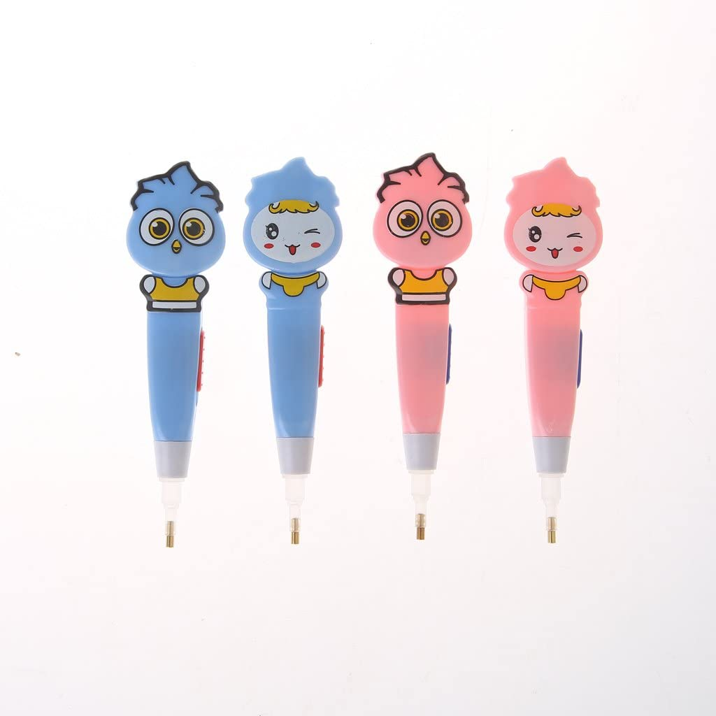 DIY Practical Painting Crafts Needlework Stylus 5D Point Drill Pen with Lights