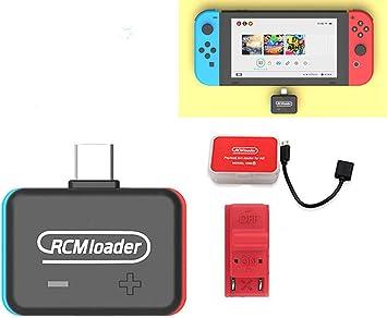 Transmisor de inyector Bluetooth Payloads, para NS Atmosphere, U Disk Inyector RCM Short Connector Type para Nintendo Switch, para Windows, MacOS, Linux, Android y otros sistemas Micro-USB Master Port: Amazon.es: Bricolaje y