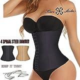 UltiSmart(TM) Hot 4 Steel Bone waist trainer Women Slimming Waist training corsets Underbust cincher body shaper corset slimming belt L-3XL