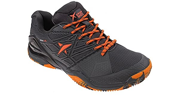 DROP SHOT Black Zapatillas, Hombre, Naranja, 44: Amazon.es ...