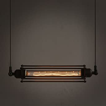 industrial bar lighting. ivalue vintage industrial hanging light edison cage pendant fixture for kitchen island bar lantern black lighting